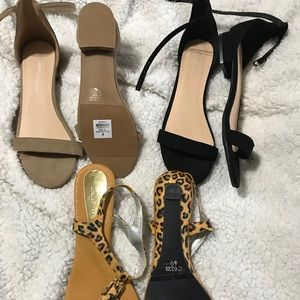 Shoes - BNWT sandal lot!